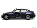2010 INFINITI G37 Sedan Driver's side profile with drivers side door open