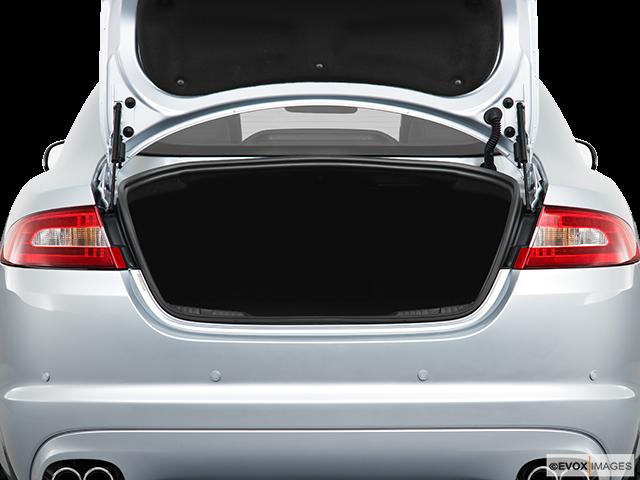 2010 Jaguar XF Trunk open