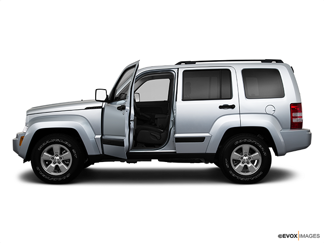 2010 Jeep Liberty Driver's side profile with drivers side door open