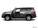 2010 Lexus GX 460 Driver's side profile with drivers side door open