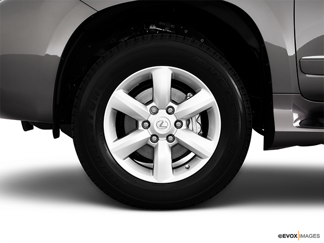 2010 Lexus GX 460 Front Drivers side wheel at profile