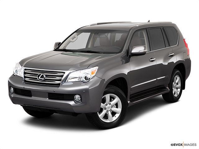 2010 Lexus GX 460 Front angle view