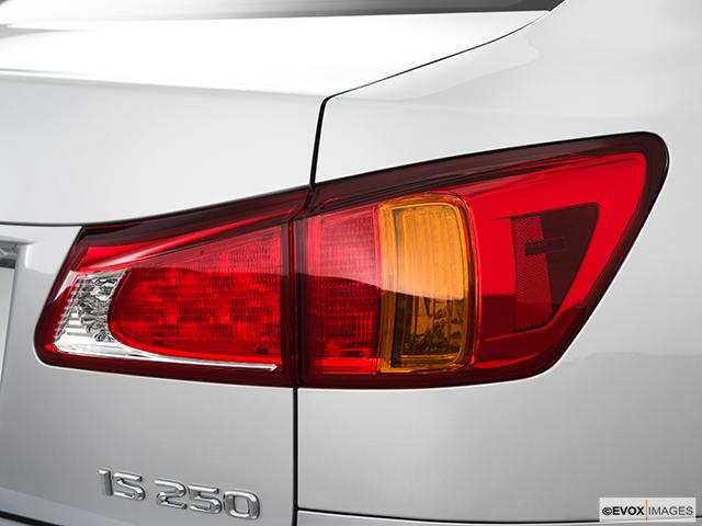 2010 Lexus IS 250 Passenger Side Taillight