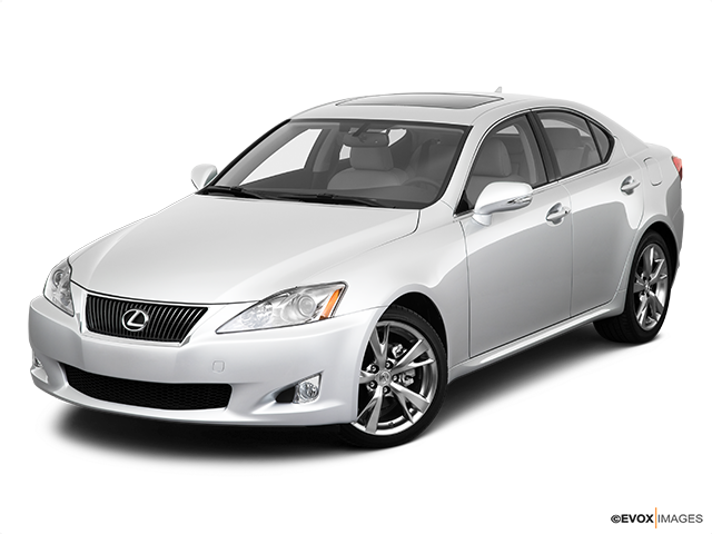 2010 Lexus IS 250 Front angle view