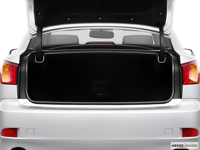 2010 Lexus IS 250 Trunk open
