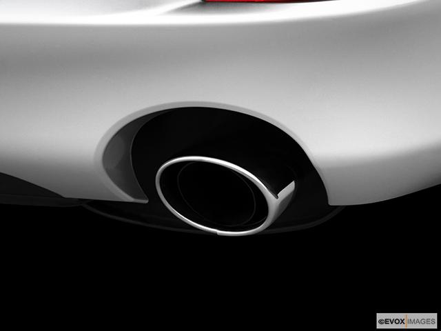 2010 Lexus IS 250 Chrome tip exhaust pipe