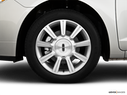 2010 Lincoln MKZ Front Drivers side wheel at profile
