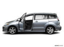 2010 Mazda Mazda5 Driver's side profile with drivers side door open