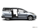 2010 Mazda Mazda5 Passenger's side view, sliding door open (vans only)