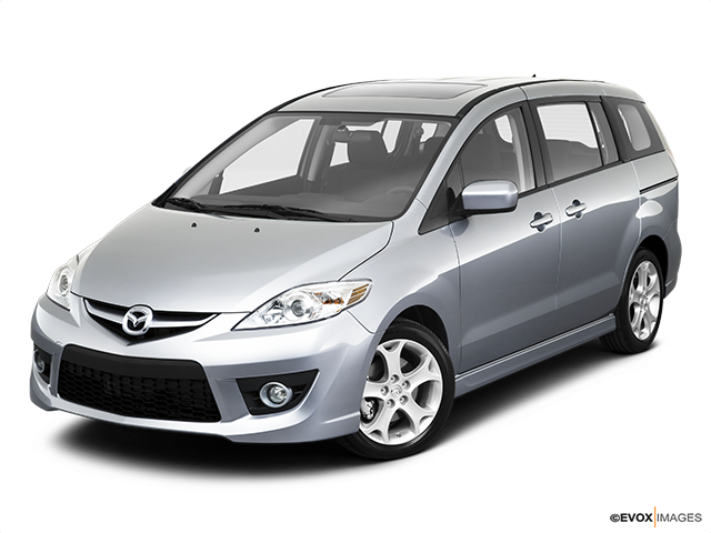 2010 Mazda Mazda5 Front angle view