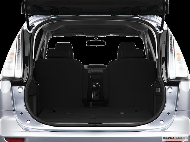 2010 Mazda Mazda5 Trunk open