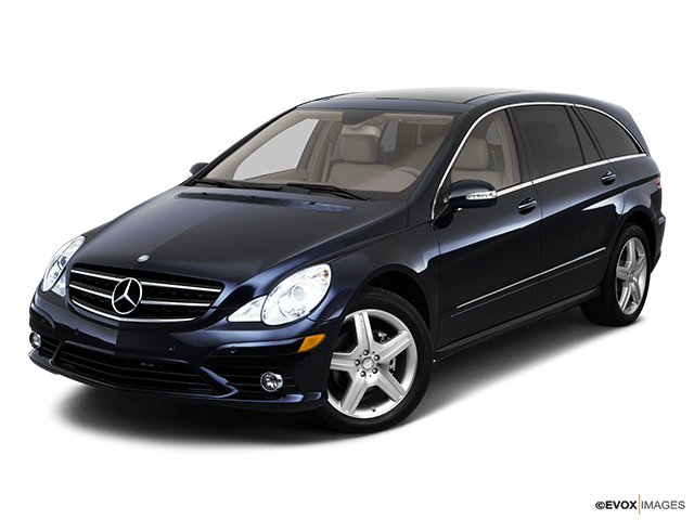 2010 Mercedes-Benz R-Class Front angle view