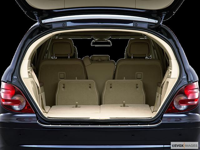 2010 Mercedes-Benz R-Class Trunk open