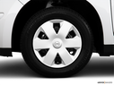 2010 Nissan Versa Front Drivers side wheel at profile