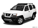 2010 Nissan Xterra Front angle view