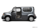 2010 Nissan cube Driver's side profile with drivers side door open