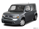2010 Nissan cube Front angle view