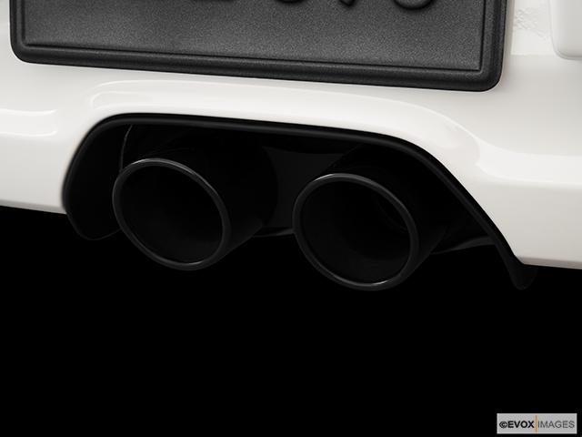 2010 Porsche 911 Chrome tip exhaust pipe
