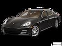 2010 Porsche Panamera Front angle view