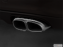 2010 Porsche Panamera Chrome tip exhaust pipe