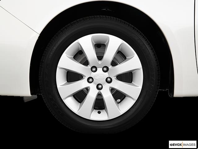 2010 Subaru Impreza Front Drivers side wheel at profile