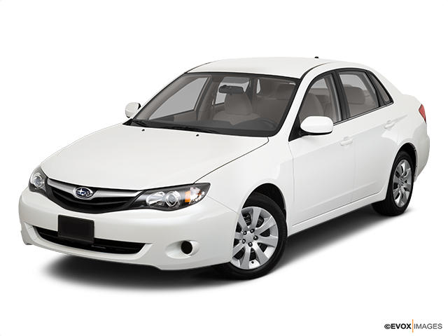 2010 Subaru Impreza Front angle view