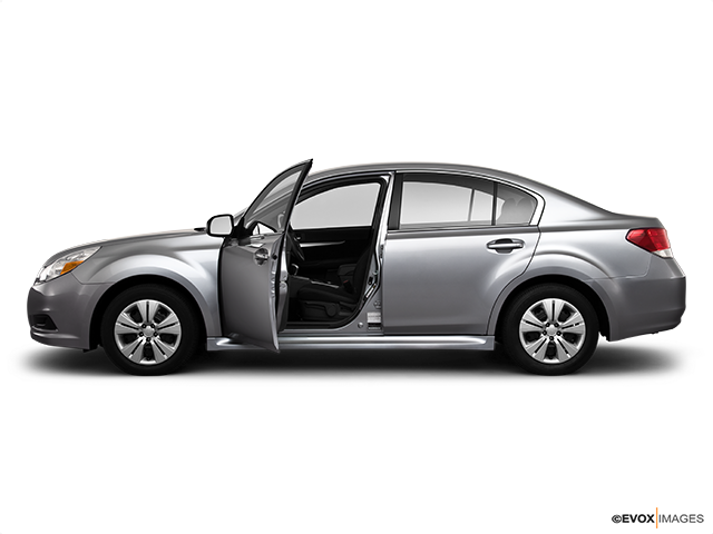 2010 Subaru Legacy Driver's side profile with drivers side door open