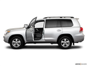 2010 Toyota Land Cruiser Driver's side profile with drivers side door open