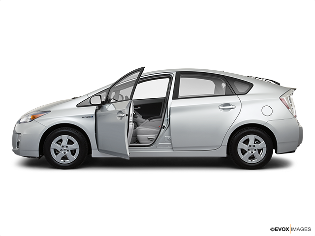 2010 Toyota Prius Driver's side profile with drivers side door open