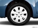 2010 Toyota Yaris Front Drivers side wheel at profile