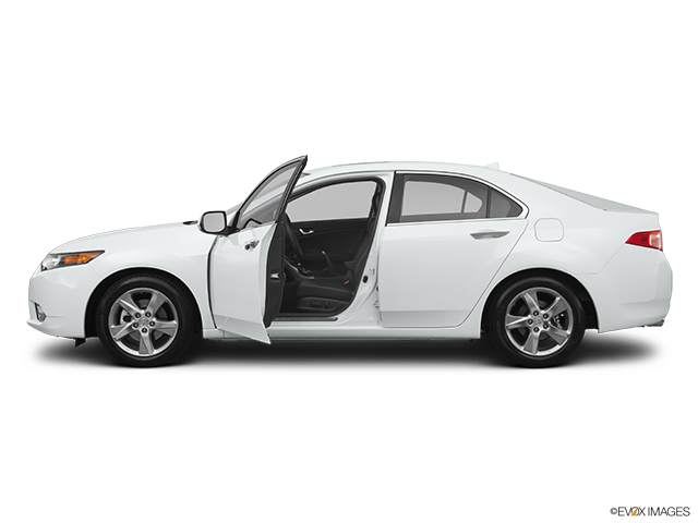 2011 Acura TSX Driver's side profile with drivers side door open