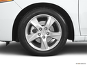 2011 Acura TSX Front Drivers side wheel at profile