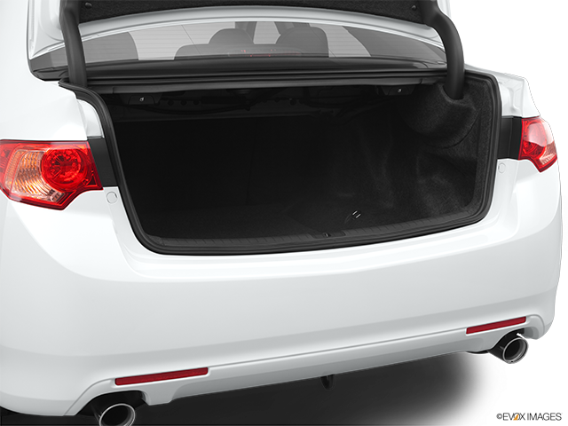 2011 Acura TSX Trunk open