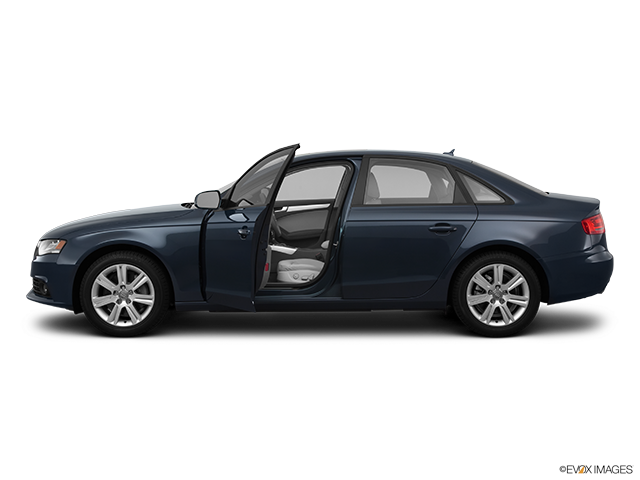 2011 Audi A4 Driver's side profile with drivers side door open