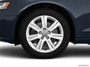 2011 Audi A4 Front Drivers side wheel at profile