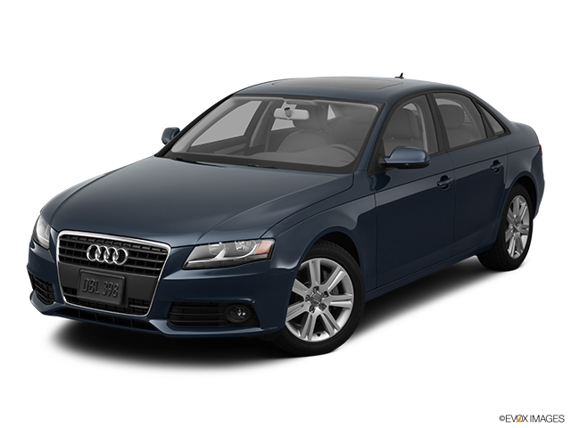 2011 Audi A4 Front angle view