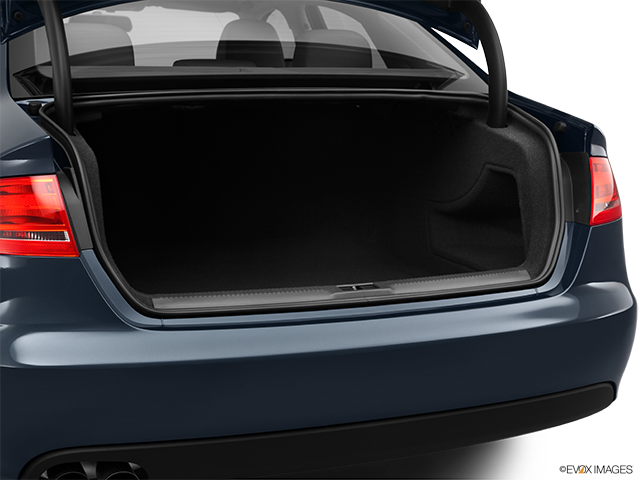 2011 Audi A4 Trunk open