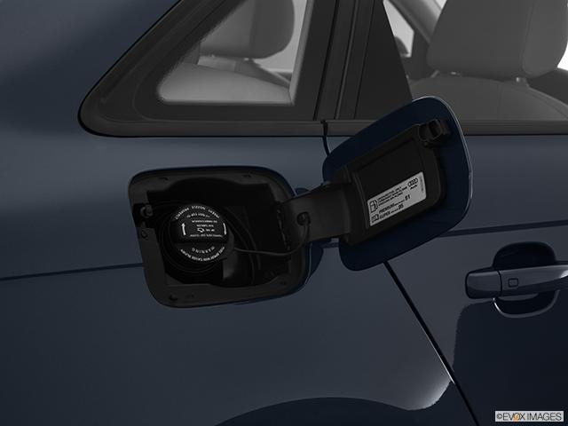 2011 Audi A4 Gas cap open