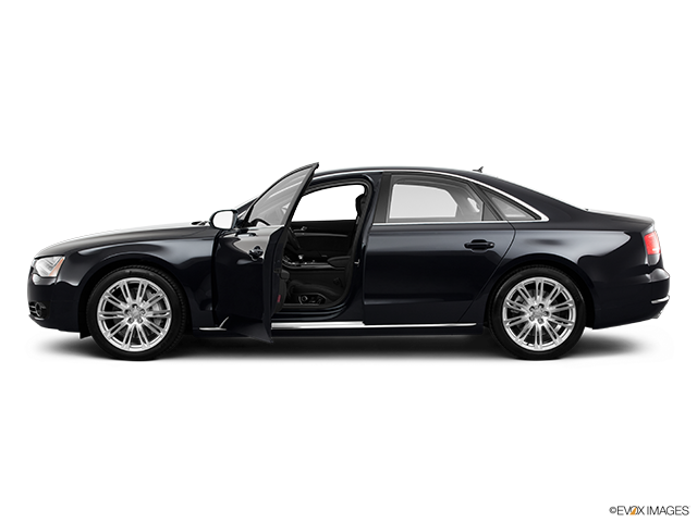 2011 Audi A8 Driver's side profile with drivers side door open
