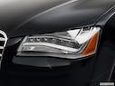 2011 Audi A8 Drivers Side Headlight
