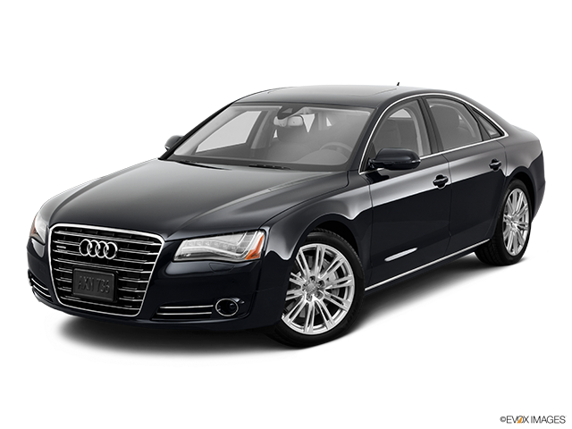 2011 Audi A8 Front angle view