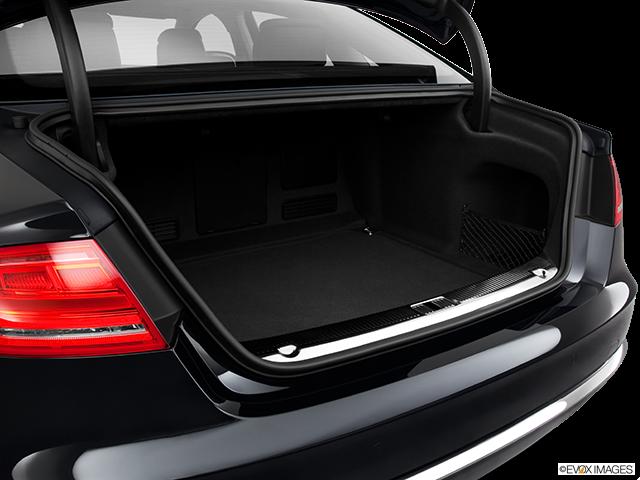 2011 Audi A8 Trunk open