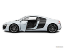 2011 Audi R8 Driver's side profile with drivers side door open