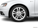 2011 Audi S4 Front Drivers side wheel at profile