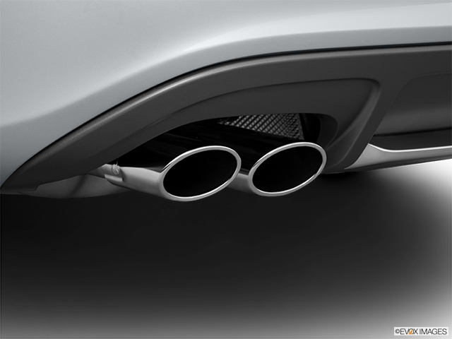 2011 Audi S4 Chrome tip exhaust pipe
