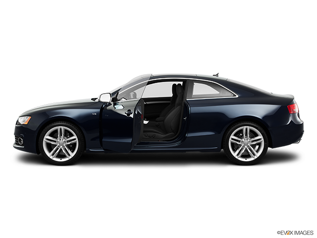 2011 Audi S5 Driver's side profile with drivers side door open