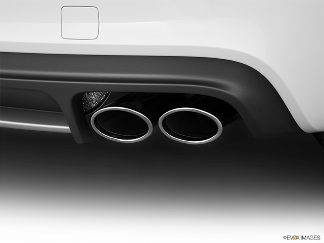 2011 Audi TTS Chrome tip exhaust pipe