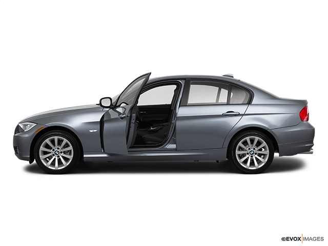 2011 BMW 3 Series Driver's side profile with drivers side door open
