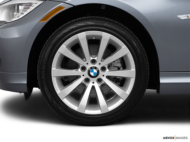 2011 BMW 3 Series Front Drivers side wheel at profile