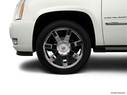 2011 Cadillac Escalade EXT Front Drivers side wheel at profile